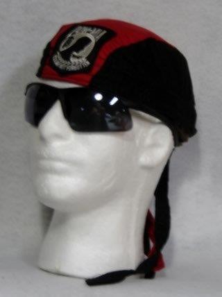 Black & Red, White POW patch