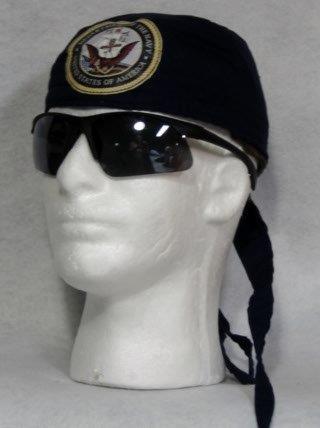 Black w/ Navy Patch