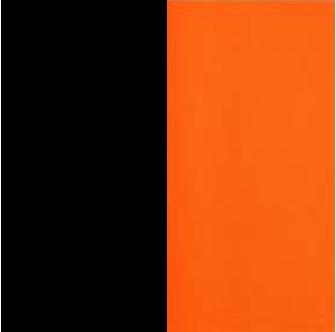 Black Sides, Orange Center