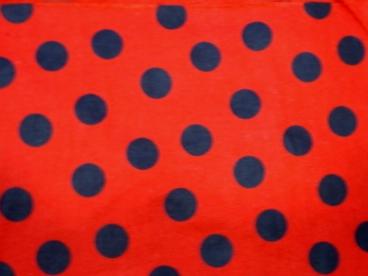 LadyBug (Quarter Size Black Dots)